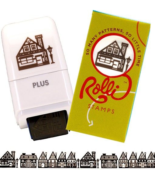 Rolli Stamp Houses & Homes - Are Your Kids Obsessed Like Mine?