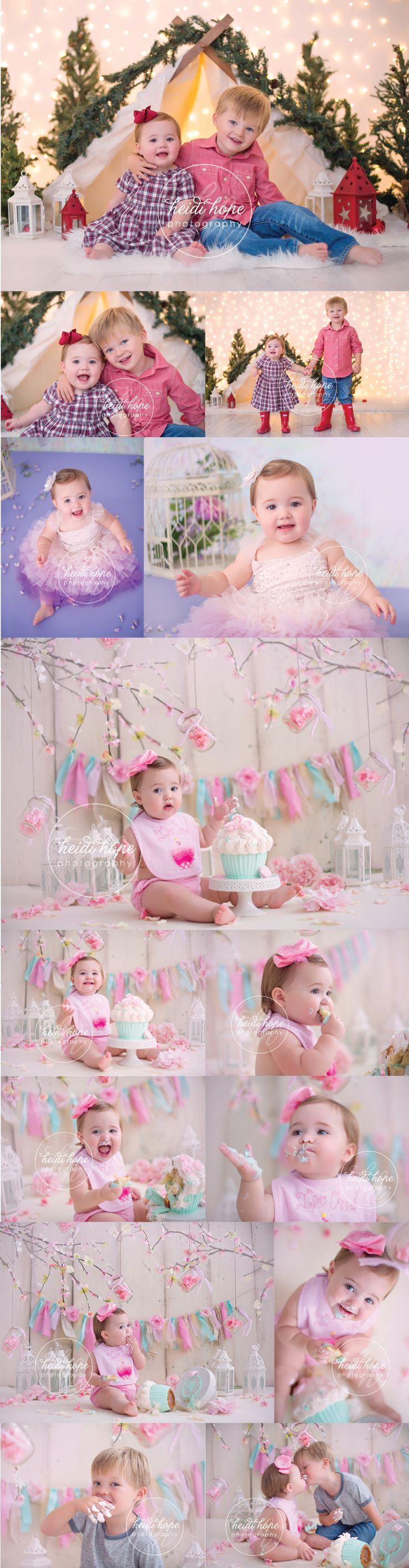 A Shabby Chic First Birthday for Miss D! | Heidi Hope Photography
