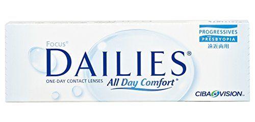 Focus Dailies Progressives Gleitsicht Tageslinsen weich, 30 St�ck / BC 8,6 mm / DIA 13,8 mm / -0,25 Dioptrien