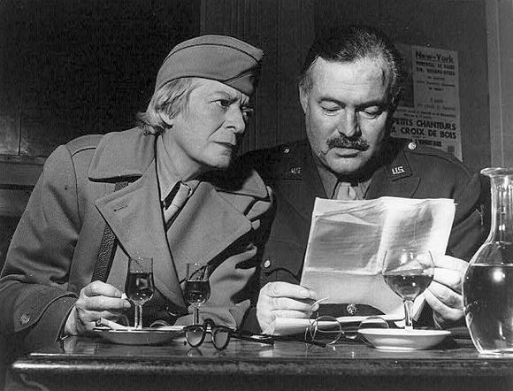 the early inclination of ernest hemingway towards literature It is part of a conversation hemingway has with an austrian about literature, w em 1933, ernest hemingway e a sua mulher pauline.