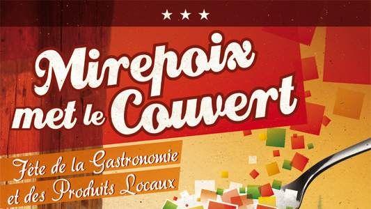 """""""Mirepoix met le couvert"""" pour la première fête de la gastronomie locale"""