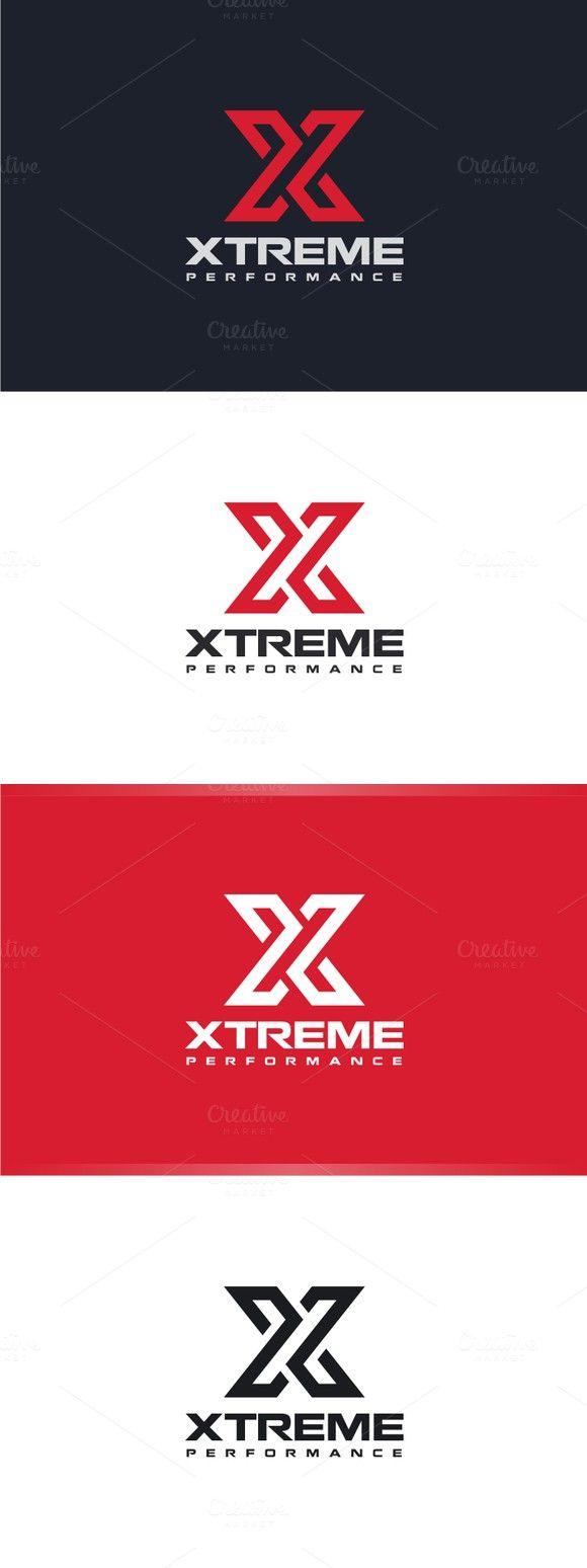 Xtreme - Letter X Logo