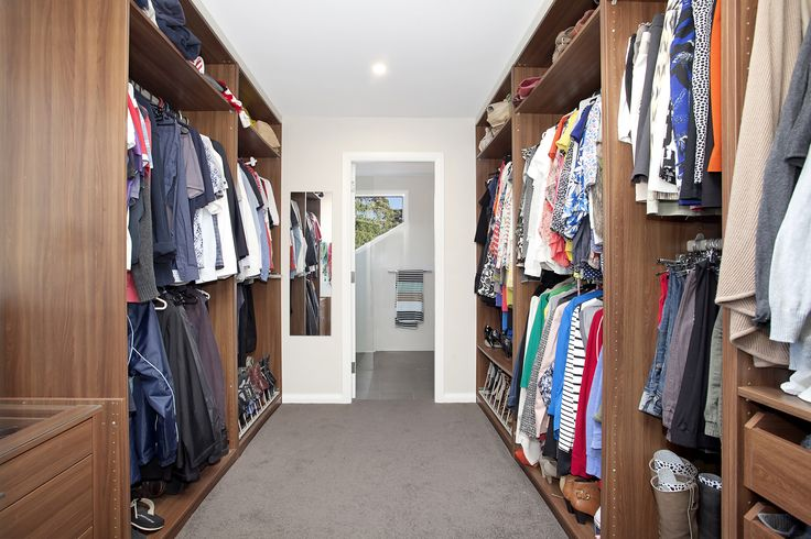 Large His and Her Double Walk-In Wardrobe