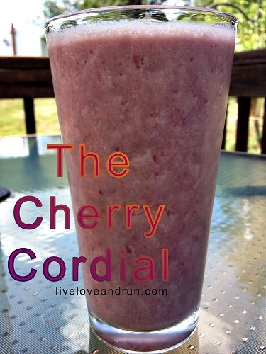 The Cherry Cordial Smoothie