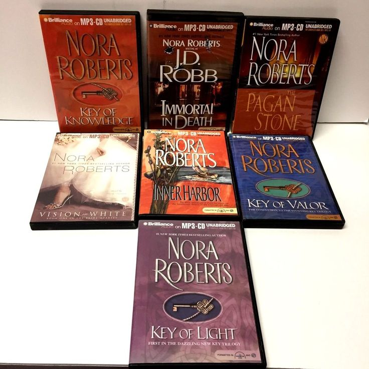 nora roberts audio book