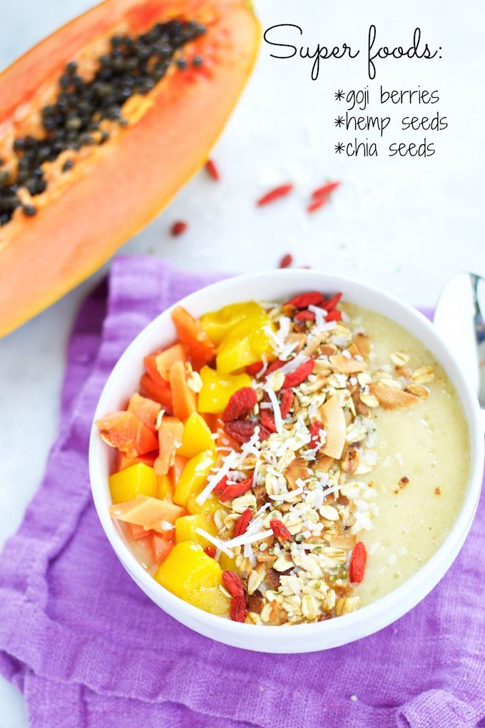 tropical bowl para desayunar desayunos veganos desayunos veganos recetas desayunos veganos