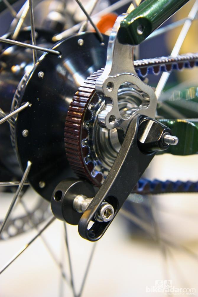 The Rohloff Snubber Isnt Designed To Tension The Gates