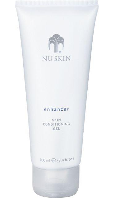 Enhancer Skin Conditioning Gel. Lightweight hydrator with a subtle cooling sensation on the skin.