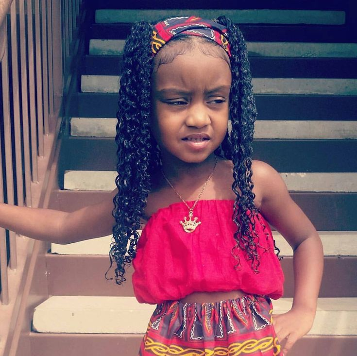 African Themed Little Girl Hairstyles Natural Hair