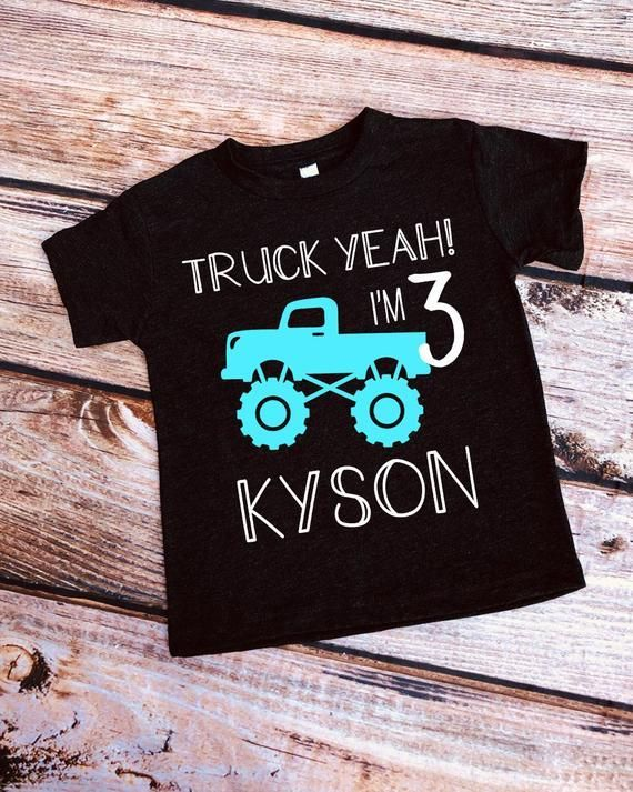 Truck Yeah Mud Truck Monster Truck Birthday Shirt Boys Etsy Birthday Shirts In 2020 Monster Truck Birthday Monster Truck Theme Birthday 3rd Birthday Party For Boy