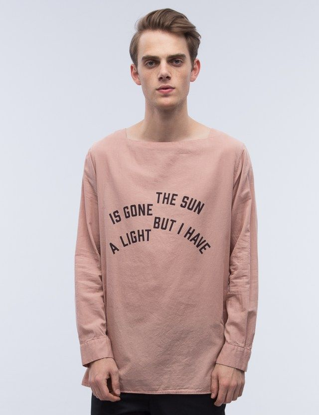 BED J.W. FORD Message Pullover Shirt