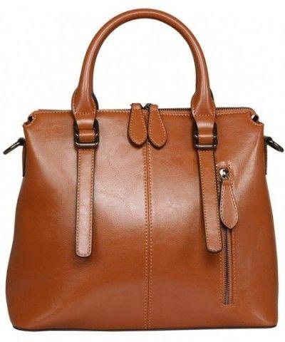 333ae6a2e4f8 Leather Shoulder Handbags Crossbody Handbag - Brown-r - CC128OJISLN in 2019