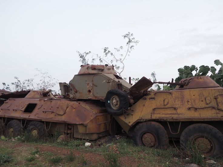 "https://flic.kr/p/NropEU | The ""Tank Graveyard"" Asmara, Eritrea 