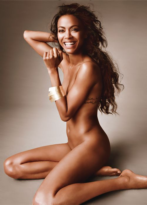 Zoe Saldana. Seriously the most gorgeous women I've ever seen.