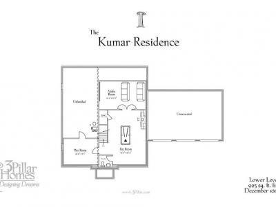 The Kumar Residence | Floor Plans | 3 Pillar Homes