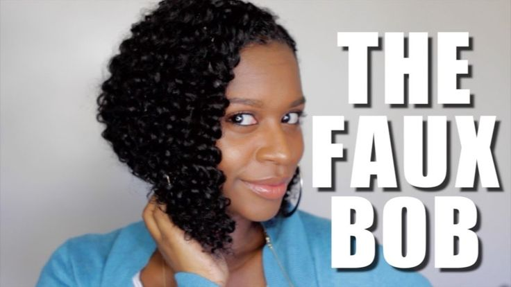 How To : The Faux Bob [Video] - Black Hair Information Community