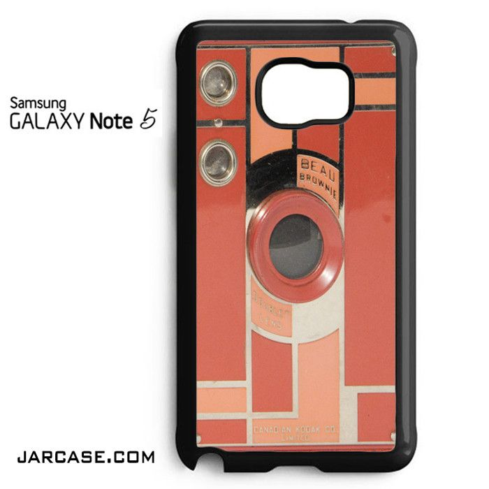 Pink Brownie Kodak Phone case for samsung galaxy note 5 and another devices