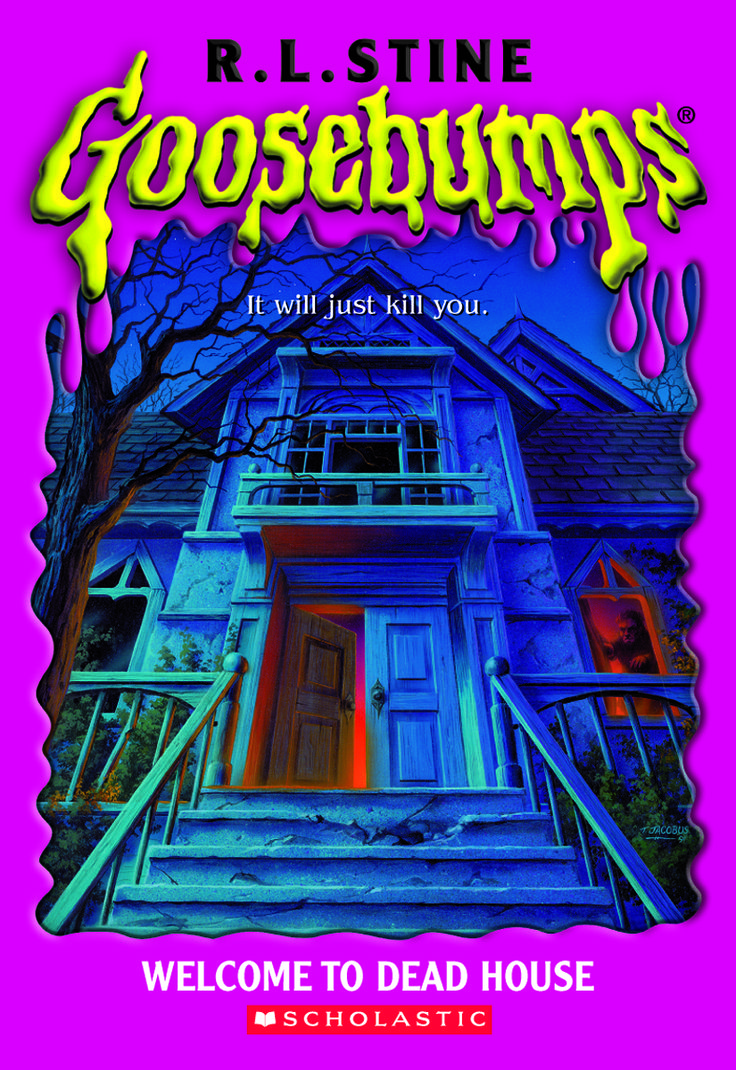 Book Cover Series Books ~ Goosebumps welcome to dead house original