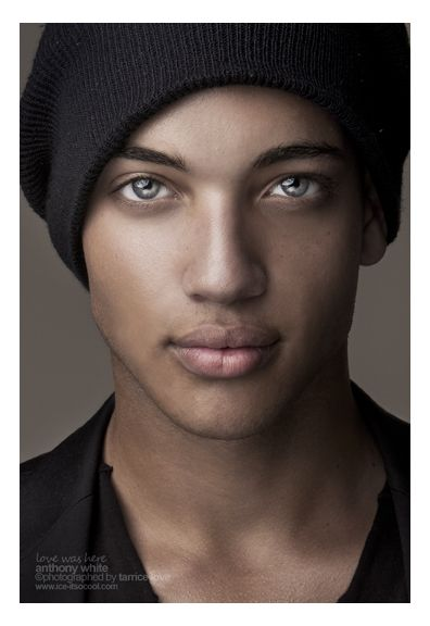 Anthony White -- his eyes are so piercing. i seriously stopped scrolling looked at this pic for like a minute straight!