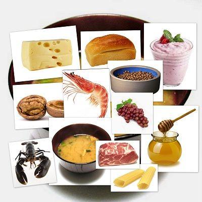 bits de inteligencia: alimentos