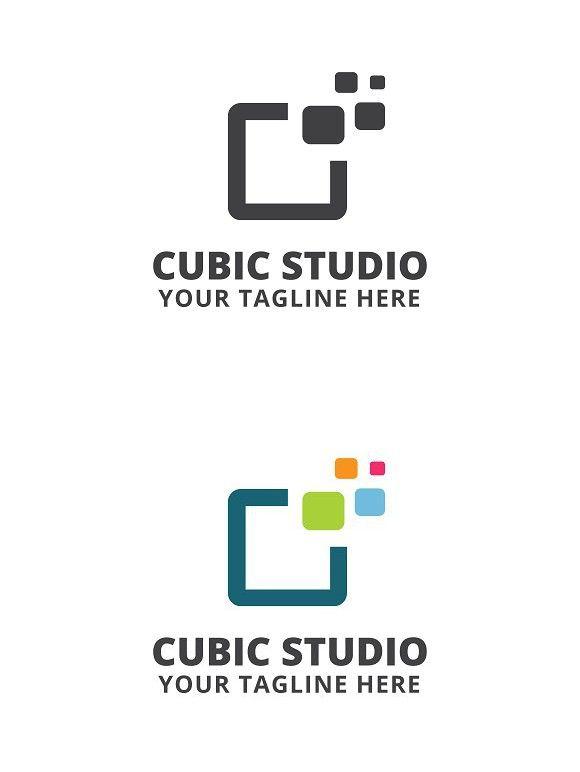 Cubic Studio Logo Template