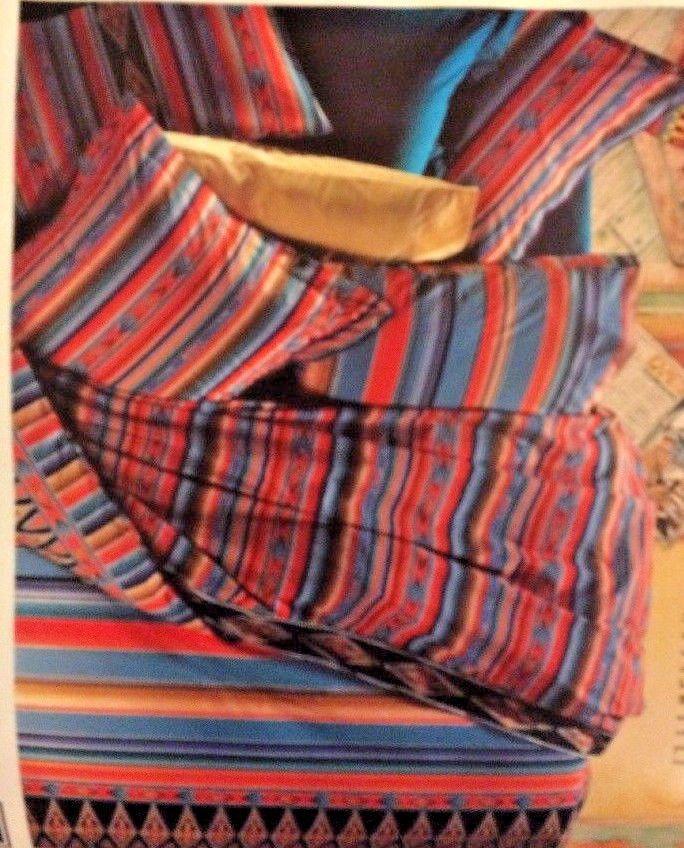 Vintage Sheridan Sheet Set Queen South Western Santa Fe Print | Collectibles, Linens & Textiles (1930-Now), Bed & Bath Linens | eBay!