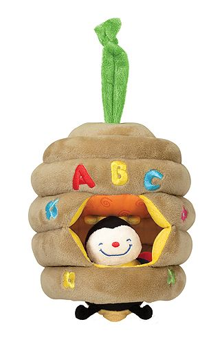Musical Pull Beehive Baby Toy | Baby toys | Melissa and Doug. Aww getting this one for the baby.