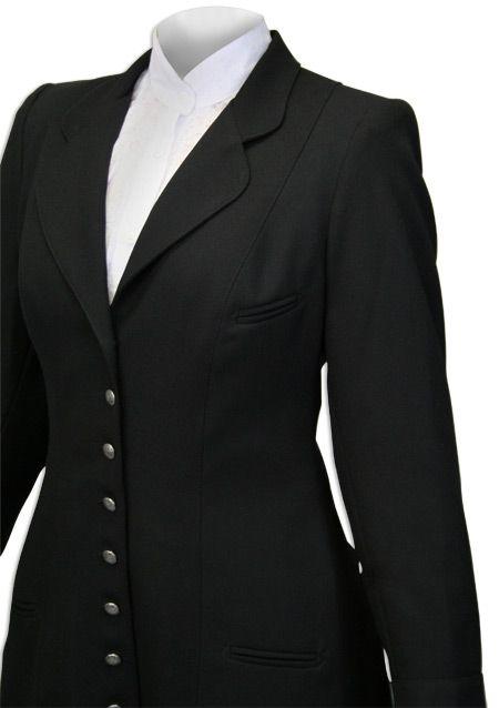 Ladies Wool Crepe Coat