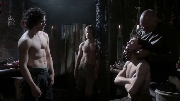Jon, Robb and Theon