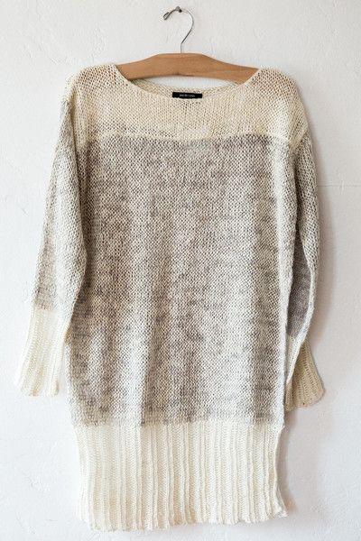 pas de calais white pullover