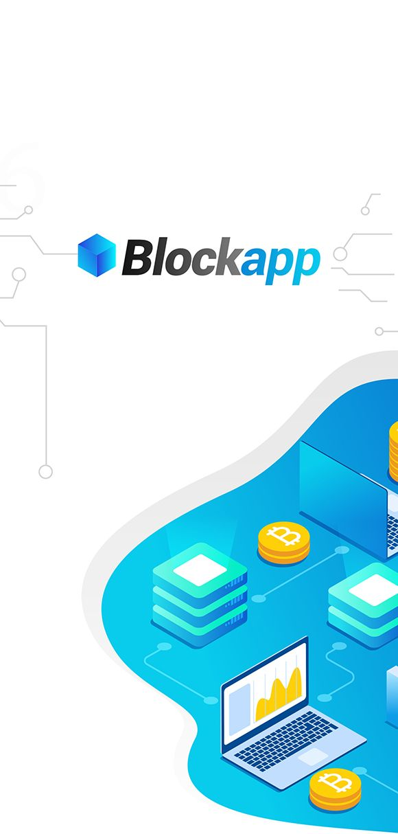 BlockApp - Crypto Currency Mobile App PSD Template #Currency