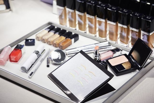 DIOR Spring Summer 2015 runway show MakeUp by Peter Philips using DIOR Makeup collection