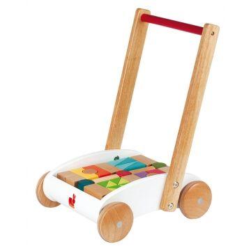 Chariot de marche Mini Buggy I WOOD - Janod