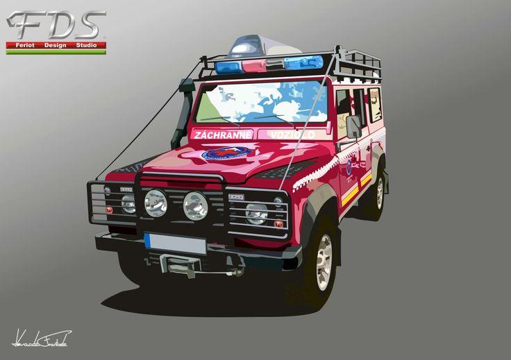 Land Rover Defender Mountain Rescue