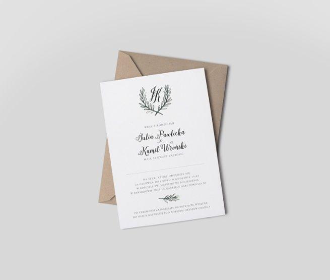 Goodlove Studio » Kolekcja:_Rozmaryn - Zaproszenia ślubne i dodatki