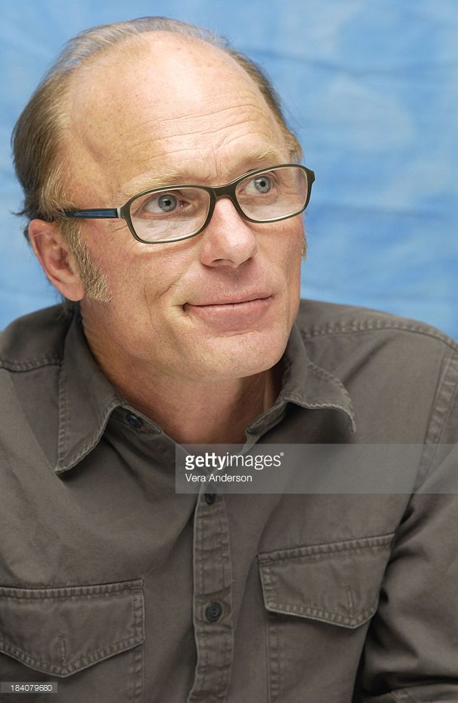 Ed Harris during The Hours Press Conference with Meryl Streep and Ed Harris at Essex House in New York City, New York, United States.