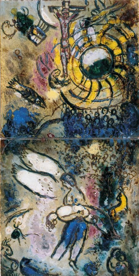 Marc Chagall - 1959, The Creation of Man