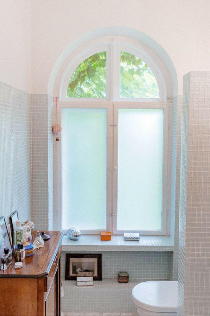 Bathroom goals from ditte reffstrup 39 s copenhagen home for Small bathroom goals