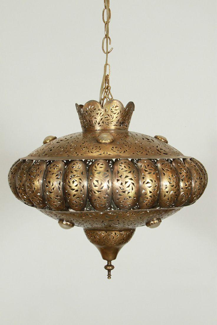 moroccan style lighting fixtures. Moroccan Brass Chandelier In Alberto Pinto Style Lighting Fixtures