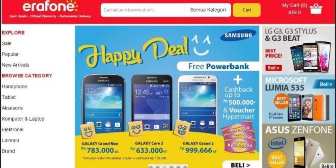Samsung Happy Deal, Free Powerbank di Erafone | Tempatnya Promosi dan Diskon