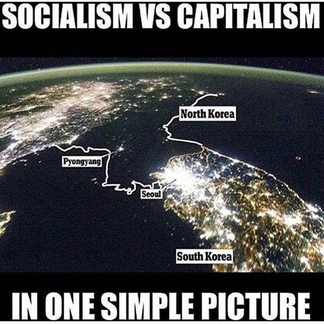 "The GOP Mind at Work ~   North Korea as an example of ""socialism?"" You've got to be kidding."