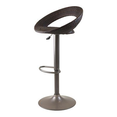 Winsome Wood 93138 Bali Adjustable Airlift Bar Stool  sc 1 st  Pinterest & 13 best Bar stools images on Pinterest | Adjustable bar stools ... islam-shia.org