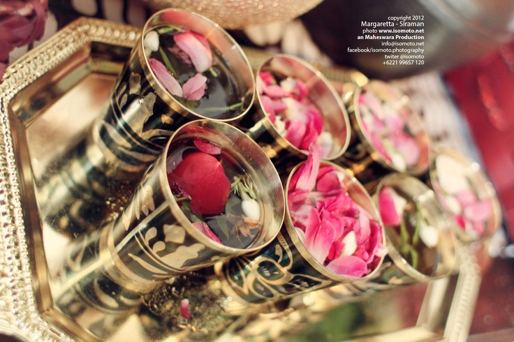 """They called """"siraman"""" Traditional Java Wedding Cultural Indonesia"""
