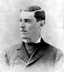 Woodrow Wilson - circa 1880s.