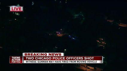 Two Chicago police officers injured after ambush attack; manhunt underway - http://www.theblaze.com/news/2017/05/03/two-chicago-police-officers-injured-after-ambush-attack-manhunt-underway/