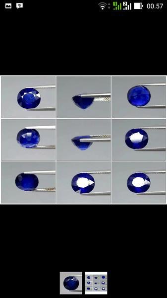 Jual beli natural blue sapphire 6.94ct di Lapak rajawali star gemstone - ww98. Menjual Batu Mulia Permata - natural sapphire shape oval cut size 11.2x10x6.8 weight 6.94ct color medium blue origin madagaacar treatment gf mitos bulan September  dihubungkan dengan batu safir, lambang kejujuran dan kebersihan jiwa. Konon batu ini warnanya akan berubah jadi gelap jika pemakainya berselingkuh atau punya jiwa dan niat jahat. bintang Libra (23 Sep-22 Okt) Batu Keberuntungan