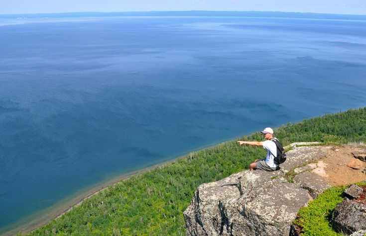 Sleeping Giant Provincial Park, Ontario, Canada - The hike pictured here is called Top of the Giant Trail and is 13.9 miles roundtrip. Photo: Monica Prelle