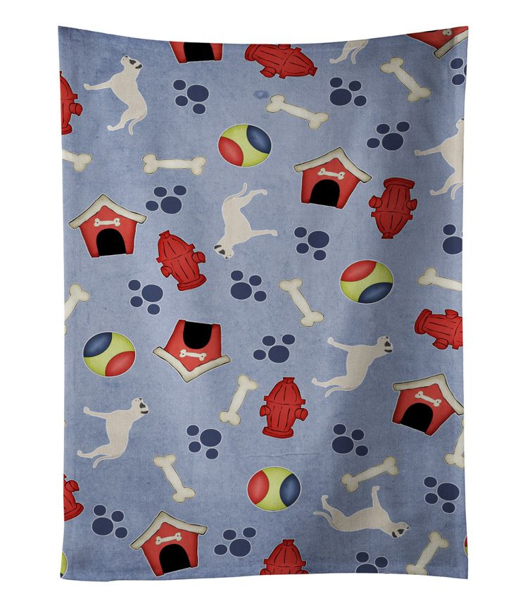 Dogo Argentino Dog House Collection Kitchen Towel BB3967KTWL