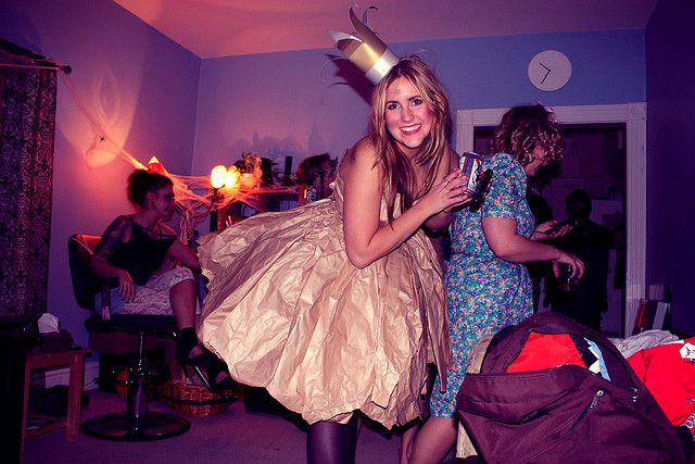 Paperbag Princess...such a good halloween costume idea!