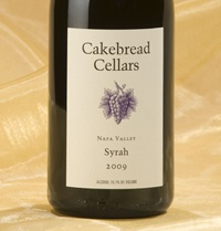 I love Cakebread wine